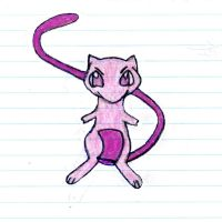 Poke'Mon MEW-THREE {Offspring of MEW and MEW-TWO} by Empress-XZarrethTKon