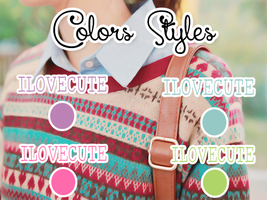 Colors Styles by IloveCute1220
