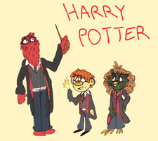 Harry the Hairy Puppeteer by DontAskMeImScared