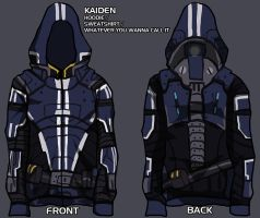 kaidan hoodie - give me your input! by lupodirosso