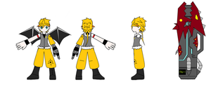 Elsword - Chung Costume Design by GameBoy224