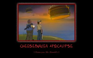 Cheeseburger Apocalypse by DamonKatu