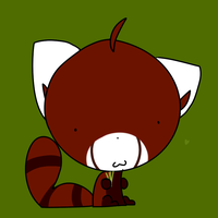 Red Pandaaaa by Acytpe