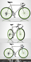 BEAUTIFUL 3D BIKE by SamaDizajn