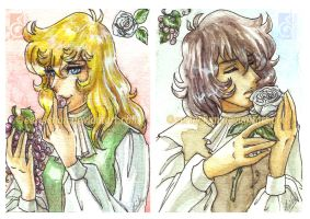 ACEO-OxA- Thinking of you by eERIechan