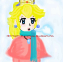 Snowy Peach by Lilith13thevampire