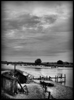 Alnmouth Black and white 1 by seatonsluice