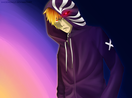 Kurosaki Ichigo - light and darkness by shoenengz