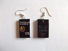 Hunger games (1)  earring by PoulpyKiss