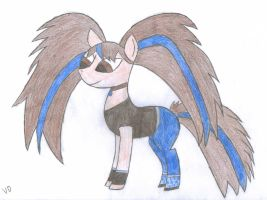 Ponified Ralyn by VioletDragonian