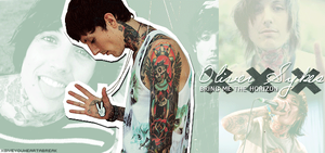 Oliver S. Sykes by xGiveYourHeartABreak