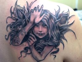 fairy tattoo 4 by mojoncio
