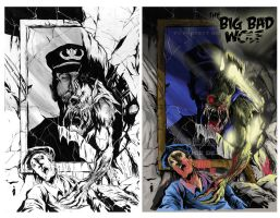 Bbw3cover (b&w- colored)  by jpdeshong