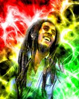 Bob Marley by antiemo