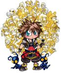 Chibi Sora, Kingdom Hearts by spikecomix