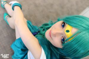 Sailor Neptune // Sailor Moon by brand-eis