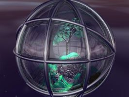 Caged Nature by Ranlinde