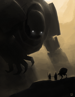 Golem - speedpaint by Zerahoc