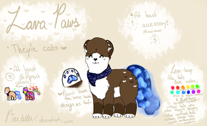 Lava Paws information Sheet by Pinelattee