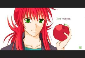Red + Green by carrot-kingdom