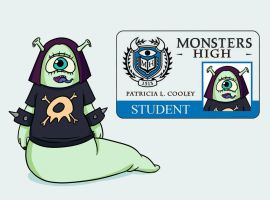 Patricia - Monsters High INC by Che-Crawford