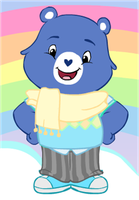 Prince as care bear by moonofheaven1
