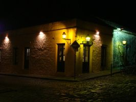 Night in Colonia - 5 by Manwathiell