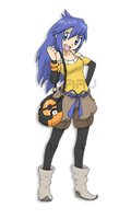 Hakone Region Trainer Celty by Neliorra
