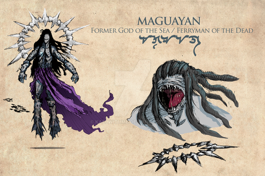 Maguayan - Illustration for Agla by kaelwithme