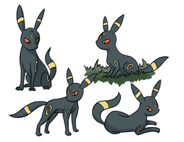 Umbreon by digital-socrates