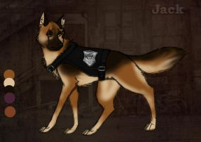 Officer Jack the Shepherd by MeanCheen