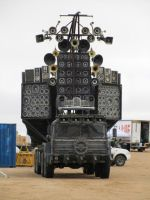 Mad Max 4 Fury Road Speaker Truck WTF ? 1 by MALTIAN