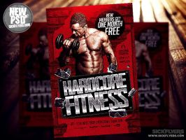 Gym Flyer Template PSD by Industrykidz