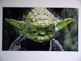 Yoda revisited by shaunsheep