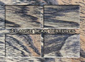 4 Large Teak textures 1 by Globaludodesign