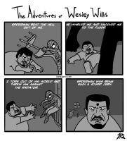 Adventures of Wesley Willis by Magusguy