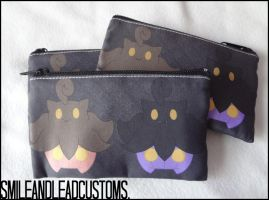 Double Pumpkaboo 3DS Pouches FOR SALE by SmileAndLead