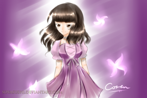 [To Lumen] Butterfly of Death and Rebirth by CorenB