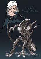 Homage to Giger by NachoMon