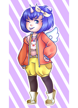 Fashionable Eiko by Kiouko-chan