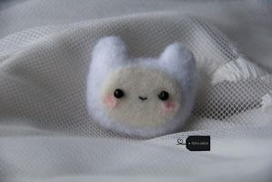 Needle Felted Finn (2) (for sale) by FluffyParcel