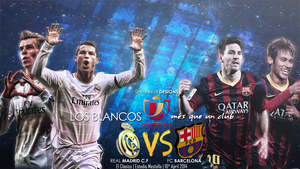Real Madrid VS Fc Barcelona by Shihab618