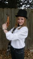 1st Steampunk/Time Travel Cosplay Attempt by JediSkygirl