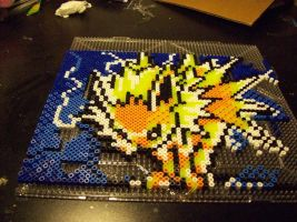 Jolteon perler by echaltraw