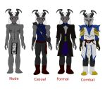 Ebasit Adaar Character Reference Sheet by Thaeonblade