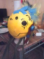 Chocobo-Mask from a  Chocobo lender by Miuga