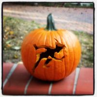 Peter Pan Pumpkin by MAXIMUMRAY