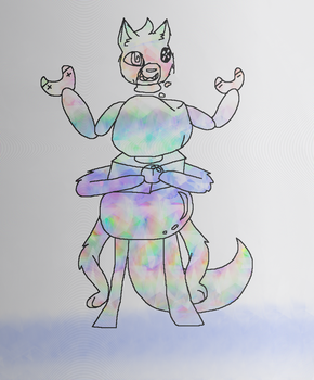Unknown species inspired by Adventure Time by SkyPaint1
