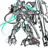 Mecha Hatsune by pantsu-pirate