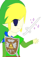 Toon Link by WhizzPop